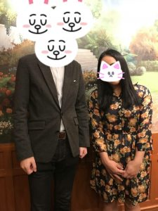お見合い記念撮影②