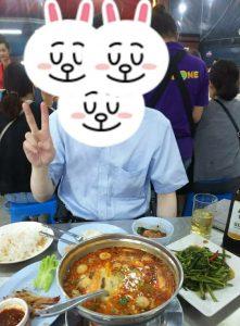 タイ料理を堪能