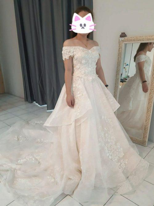 タイのウェディングドレス