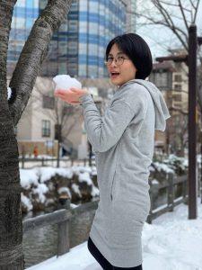 タイ人女性 現在留学生、東京在住