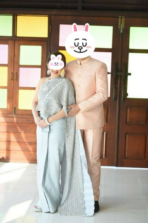 タイの結婚式 記念撮影