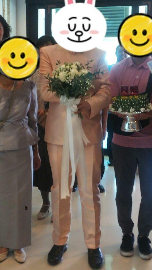 タイの結婚式 いざ入場