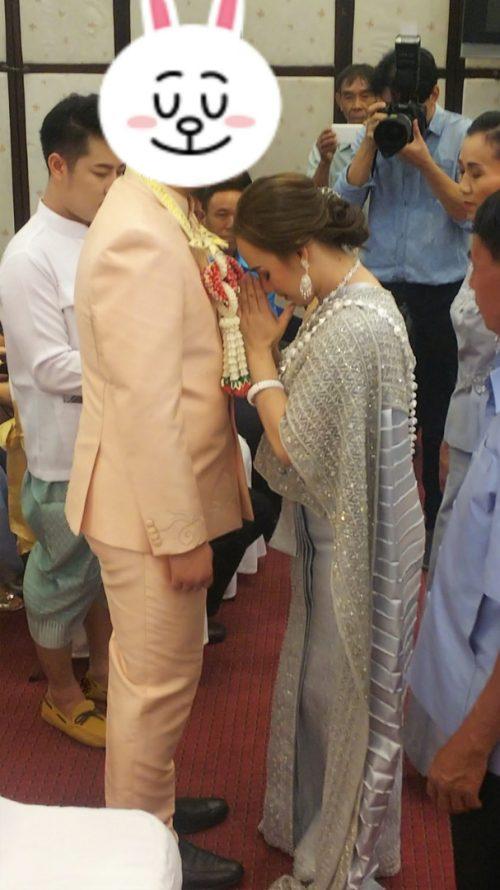 タイの結婚式 新婦とご対面