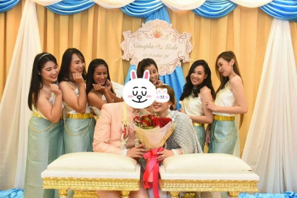 タイの結婚式 新婦の友人