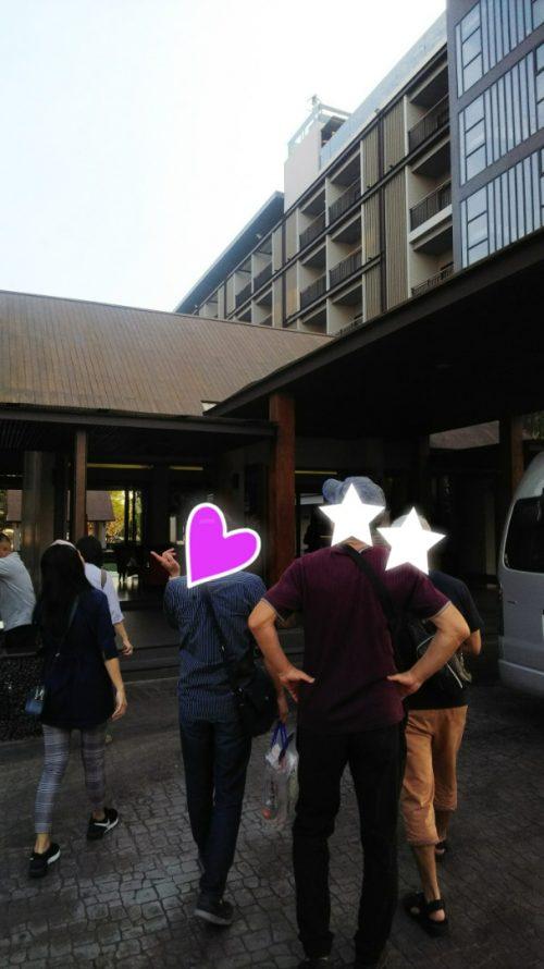 東京都50代様が結婚式をするタイのホテル