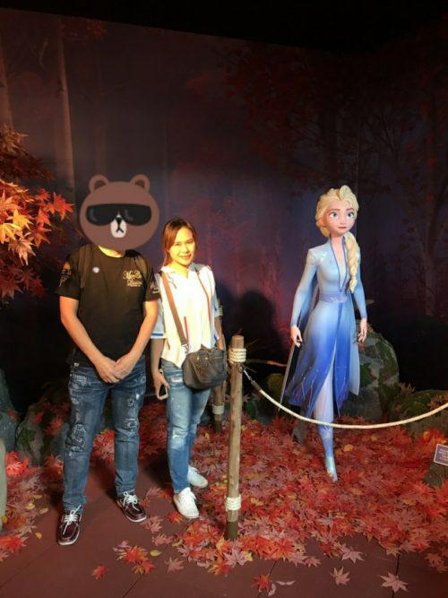 広島県60代様 タイ人女性Jちゃんとアナ雪と一緒に