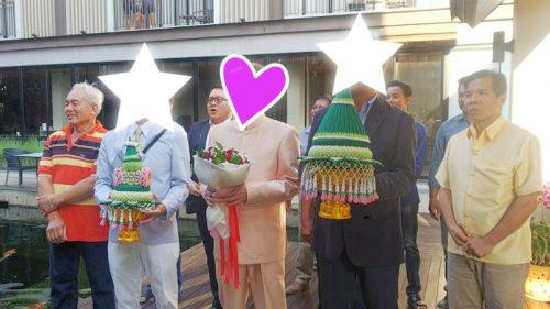 タイ東北で国際結婚 結婚式スタート