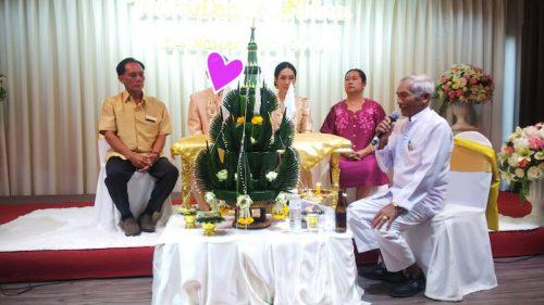 タイ東北で国際結婚 結婚式の様子
