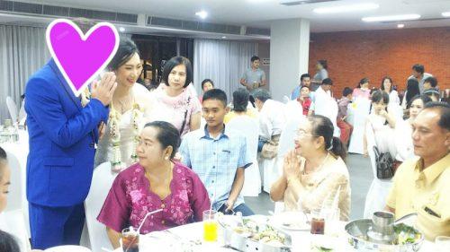 タイ東北で国際結婚 親族に挨拶