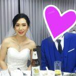 タイ東北で国際結婚 新郎新婦
