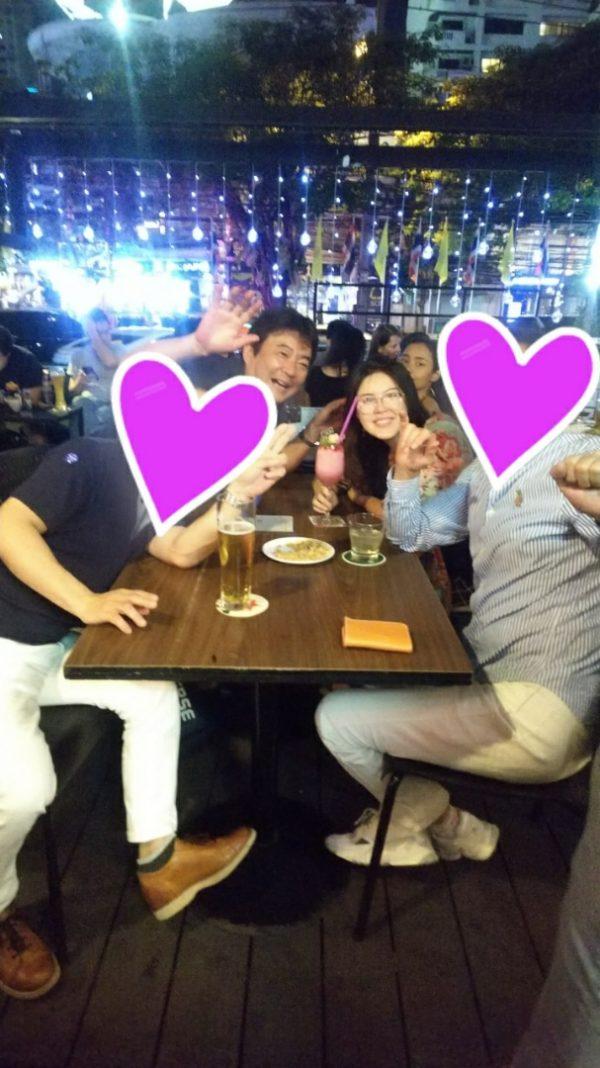 大阪様と福岡様とみんなでディナー