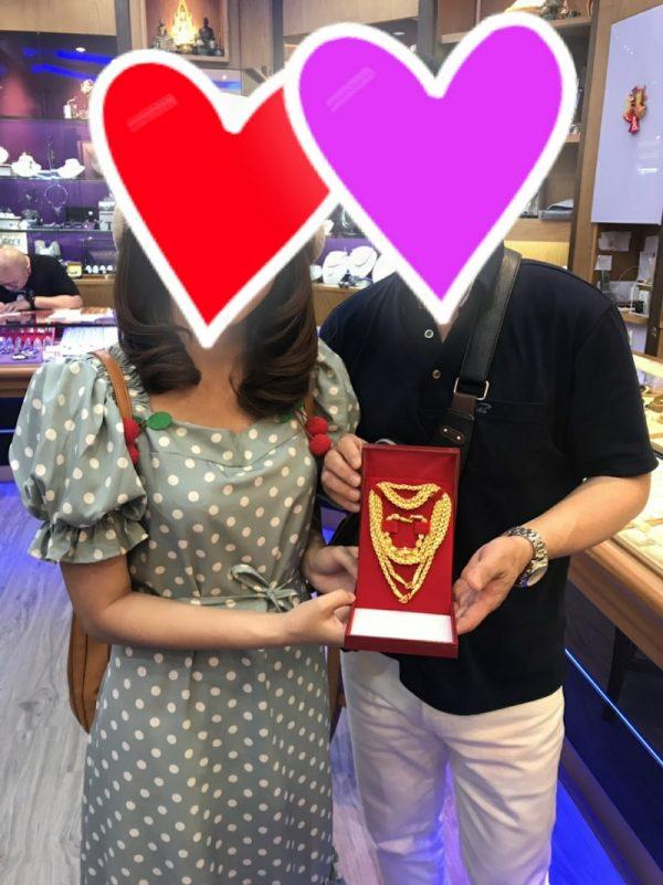 福岡50代様 タイ女性Nちゃんと婚約
