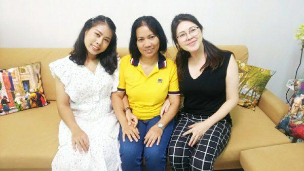 国際結婚タイのKJMに入会したタイ人女性のお母様