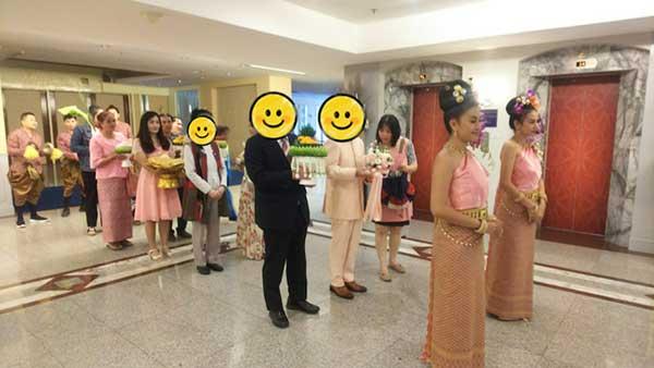 福岡県50代様|タイチェンマイで結婚式スタート