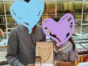 タイ在住60代様婚約しました!おめでとう