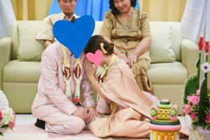 在住タイ様タイ女性とバンコクで挙式
